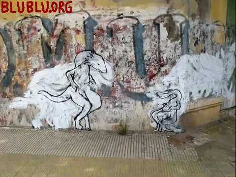 BIG BANG BIG BOOM - the new wall-painted animation by BLU