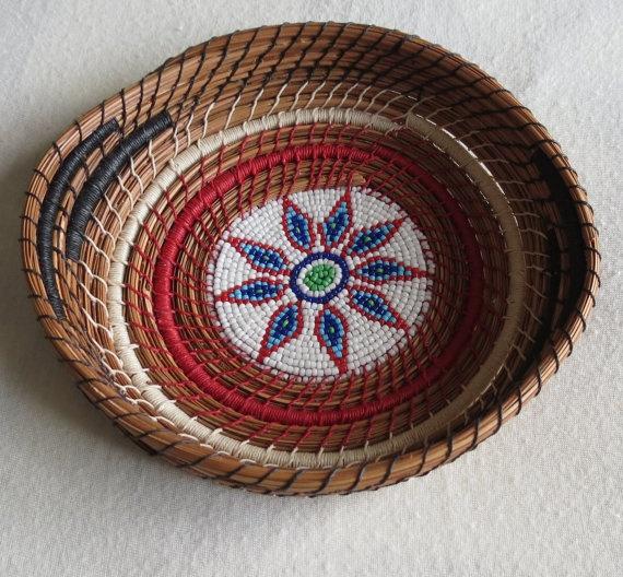 Handmade Pine Needle Baskets : Images about pine needle basket on