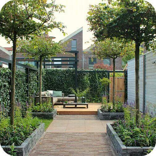 78 beste tuin idee n op pinterest achtertuinidee n for Mooie voortuinen foto s