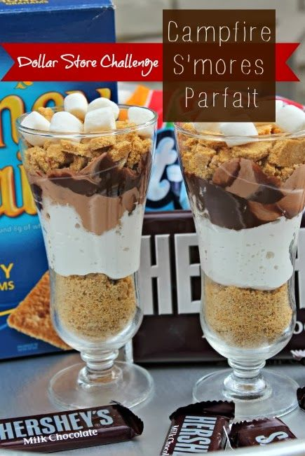 Dollar Store Challenge: S'mores Parfait Dessert | Southern State of Mind