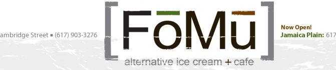 [FoMu] alternative ice cream + cafe | 482 Camrbdige Street, Allston