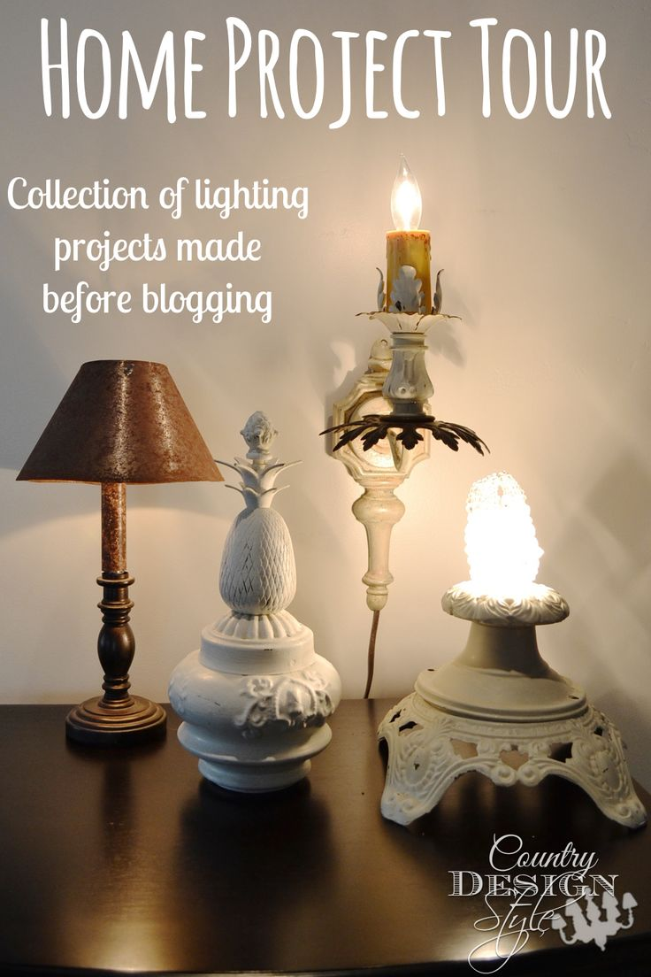 Collection of projects made before blogging. Click over to see more projects made before blogging.  Country Design Style