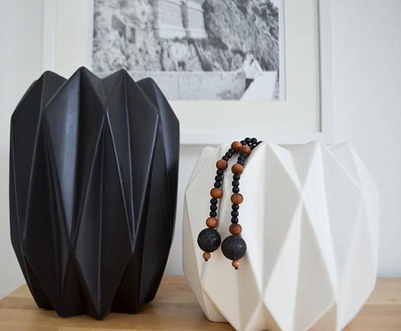 Intention Beads for the home.   Encourages focus and a positive mind.  Modern Wall Decor: Home Mala Intention Beads