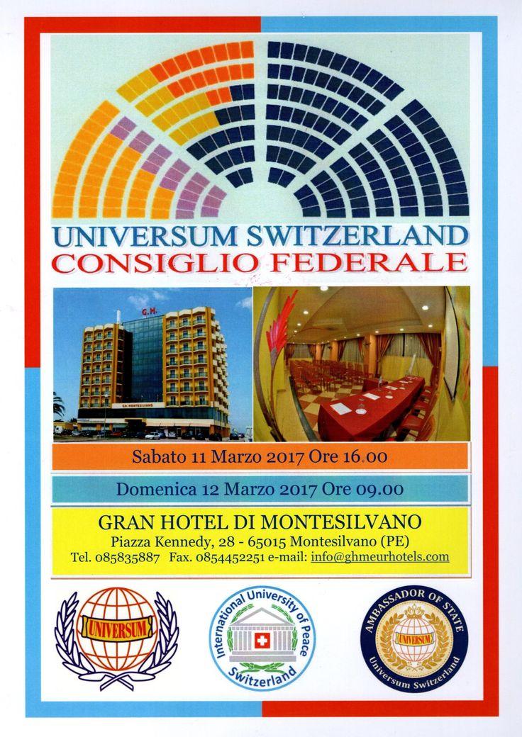 Universum Academy #Switzerland Organizzazione culturale riconosciuta presso le Nazioni Unite ( #Onu ) #Lugano #Abruzzo #Montesilvano #Pescara maggio 2017