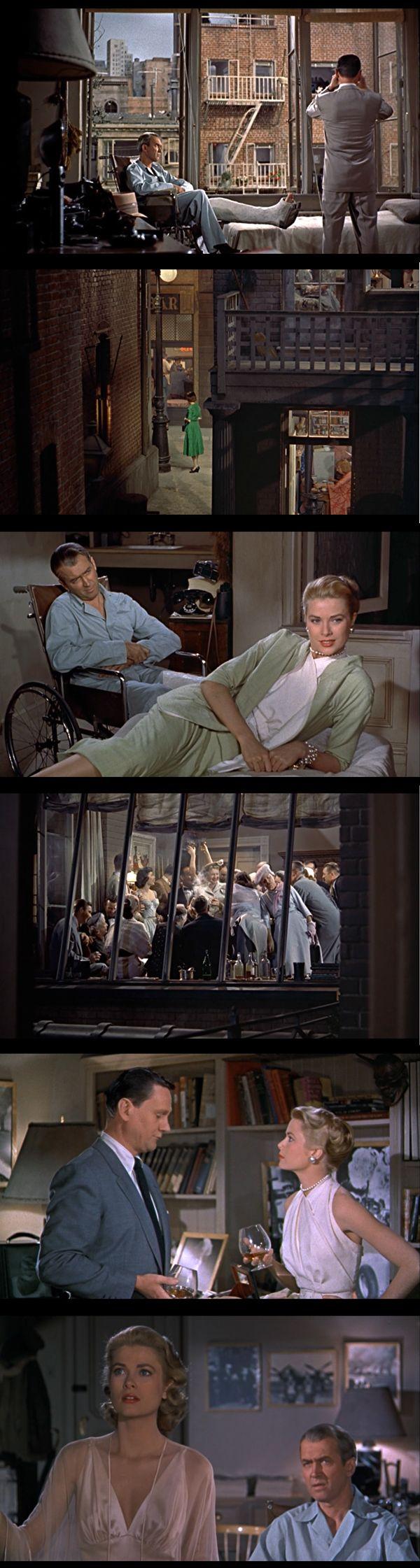 Rear Window. Hitchcock. 1954.