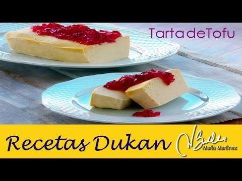 Tarta de Tofu Dukan (fase Ataque) | Recetas Dukan Maria Martinez