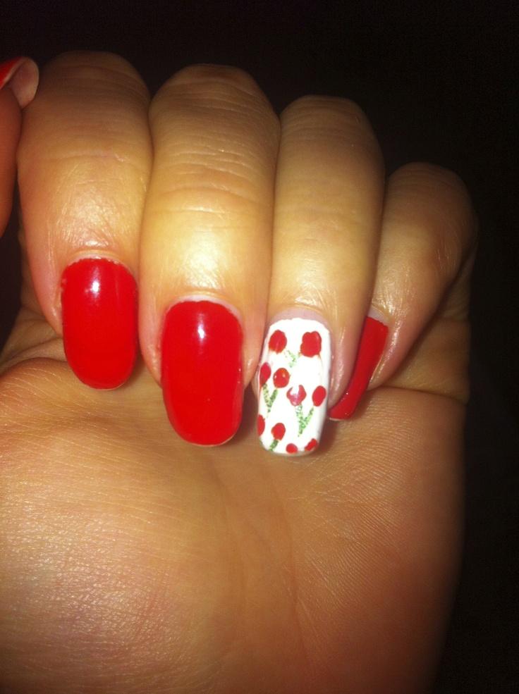 kersen nail art