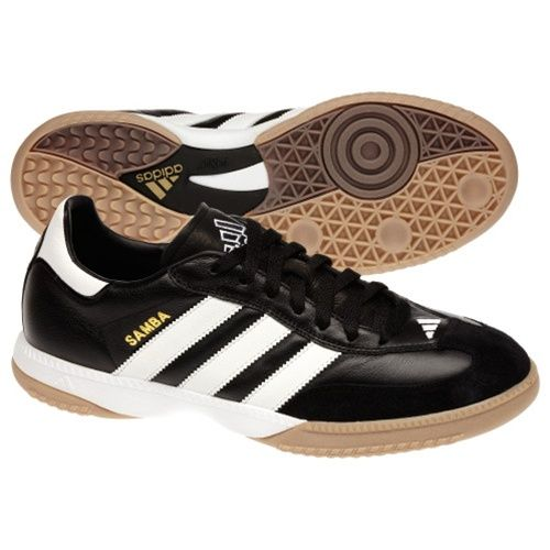 Simply a classic. Get the Adidas Samba Millennium indoor soccer shoes and feel the classic comfort and touch.  Order your indoor soccer shoes at SoccerCorner.com.  http://www.soccercorner.com/Adidas-Samba-Millennium-Indoor-Soccer-Shoe-Black-p/si-ad088559.htm