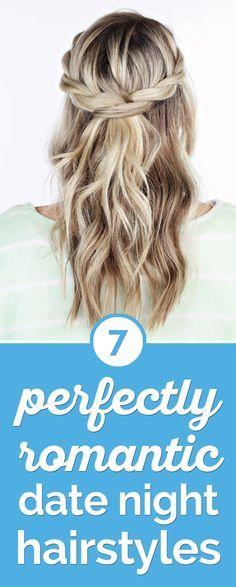 7 Perfectly Romantic Date Night Hairstyles | thegoodstuff
