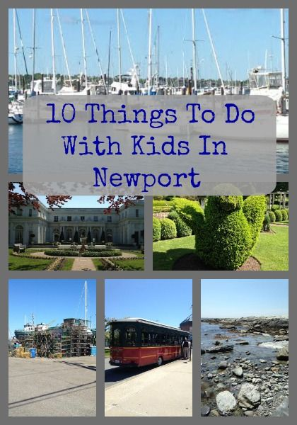 10 Things To Do With Kids In Newport  #Travel