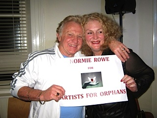 Normie Rowe for Artists for Orphans Inc