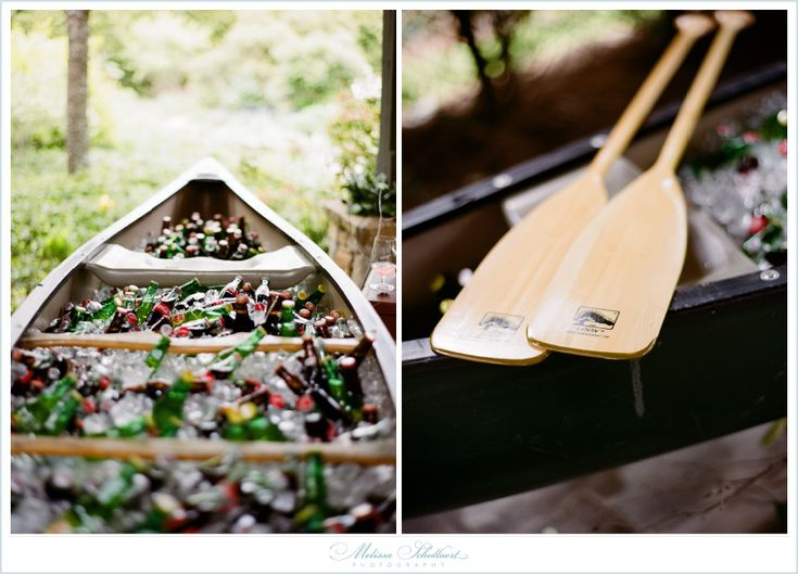 Canoe Beverage Holder...I could use the pirogue that my grandfather made!