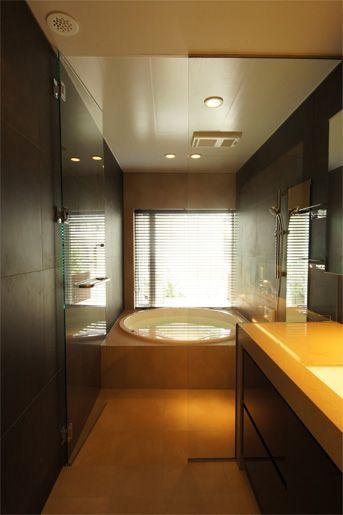 くつろぎのバスルーム