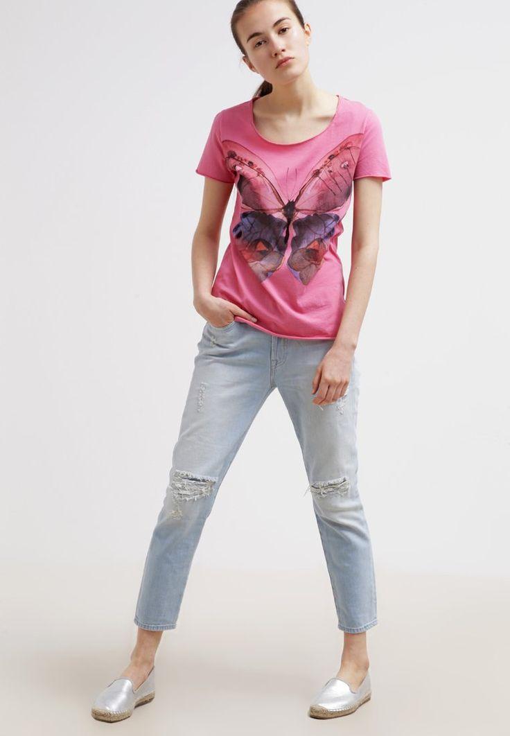 BOSS Orange TEOSINA T-shirt imprimé medium pink prix promo T-shirt Femme Zalando 55.00 €