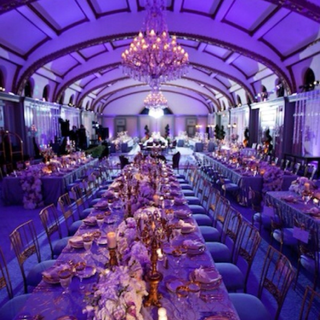 celebrity wedding reception decor wwwimgkidcom the