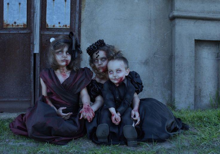 Детская зомби-фотосессия #семья #фото #дети #зомби http://www.liveinternet.ru/users/6086898/post397917692/