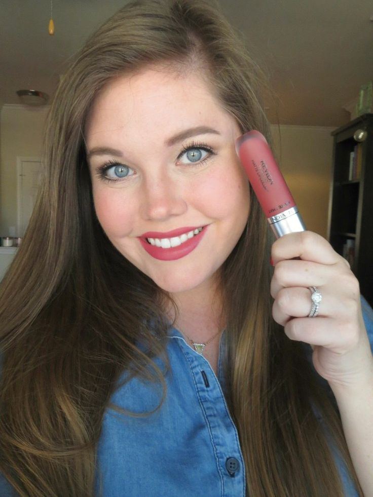 Revlon Ultra HD Matte Lipcolor in Kisses ...an amazing matte lip product from the drugstore!