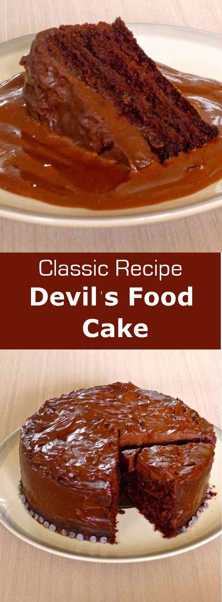 Devil's food Cake probably goes way back and originated from the southern…