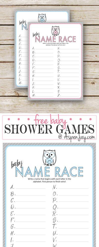 FREE owl baby shower game printable. SUPER CUTE!!!! Perfect for my upcoming owl themed baby shower. Pin this!