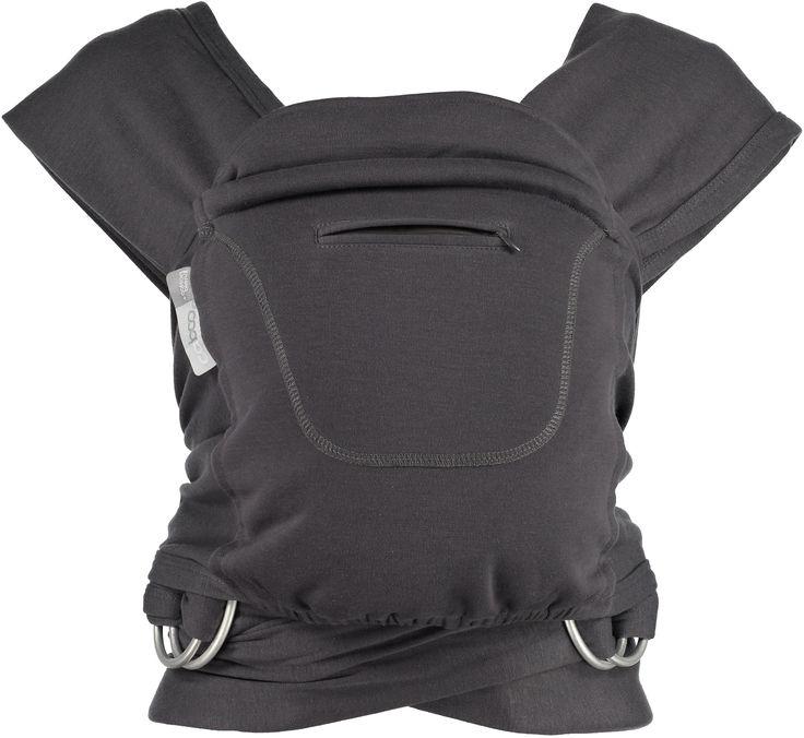 close parent caboo organic graphite babywearing attachmentparenting sling