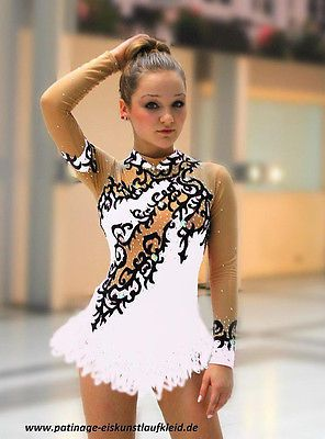 * brand new * Ice figure skating dress roller /4 6 8 10 12 14 16 S M L XL in Sporting Goods | eBay