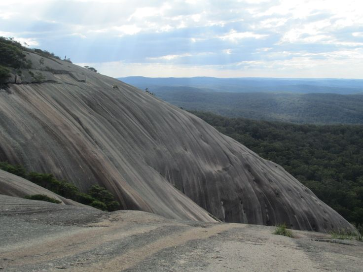 You don't have to go all the way to Uluru to see a monolith - try Bald Rock National Park just 4 hours from Brisbane!