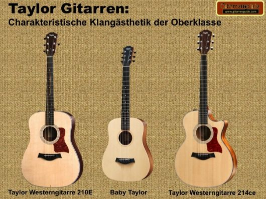 Taylor Gitarren