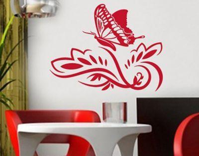 Marvelous Wandtattoo Schmetterling Schmetterling k nigsblau Plus de Online Shop f r uac Versandkostenfrei ab Kauf auf Rechnung bei Plus de