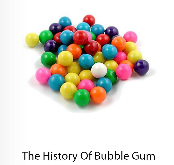 The History of Bubble Gum! Learn who invented bubble gum with this VizZle lesson