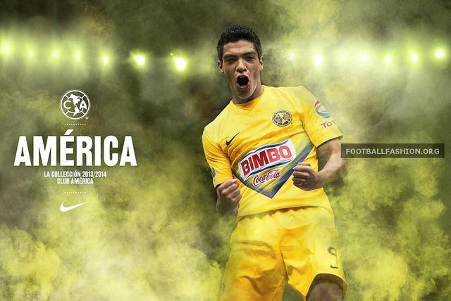 Club América 2013/14 Nike Home Jersey