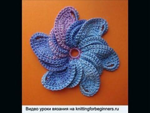 Вязаные цветы 26 Сrochet flower pattern - Wendy Schultz ~ Crochet.