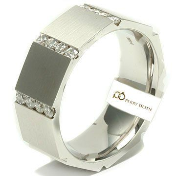 men's octagon shaped wedding band | 41kSenKBogL.jpg
