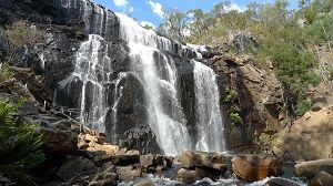 The MacKenzie Falls - one of the best in the Grampians! View it on the 2 Day Great Ocean Road and Grampians Tour