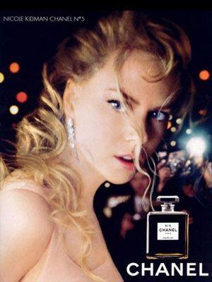 Nicole Kidman Chanel No 5 perfumes celebrity endorsements