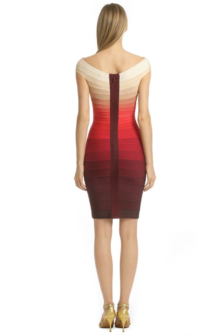Volcano Explosion Dress by Hervé Léger for $175 | Rent the Runway