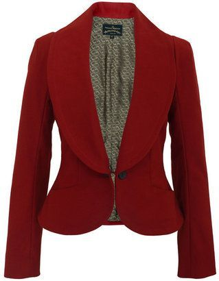 Vivienne Westwood - Anglomania Electric-08 Red Jacket. Channel your inner regimental soldier with this impeccable blazer.: