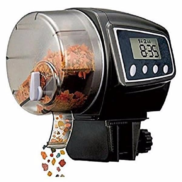 North Shore Outlet's Automatic Fish Feeder (Easy Setup)