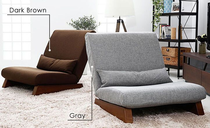 Floor Foldable Sofa Chair Modern Fabric Japanese Sofa Furniture Reclining Seat Home Garden Furniture Chai Sofa Furniture Modern Sofa Bed Single Seat Sofa