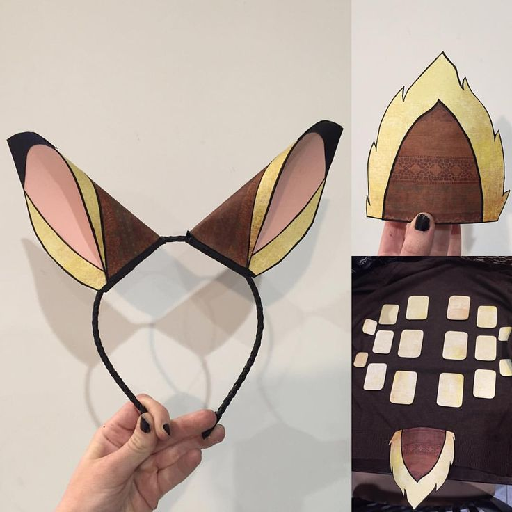 A little something I made out of paper for a Disney themed night at #betabar #bambi #costume - rebeccakettleofficial