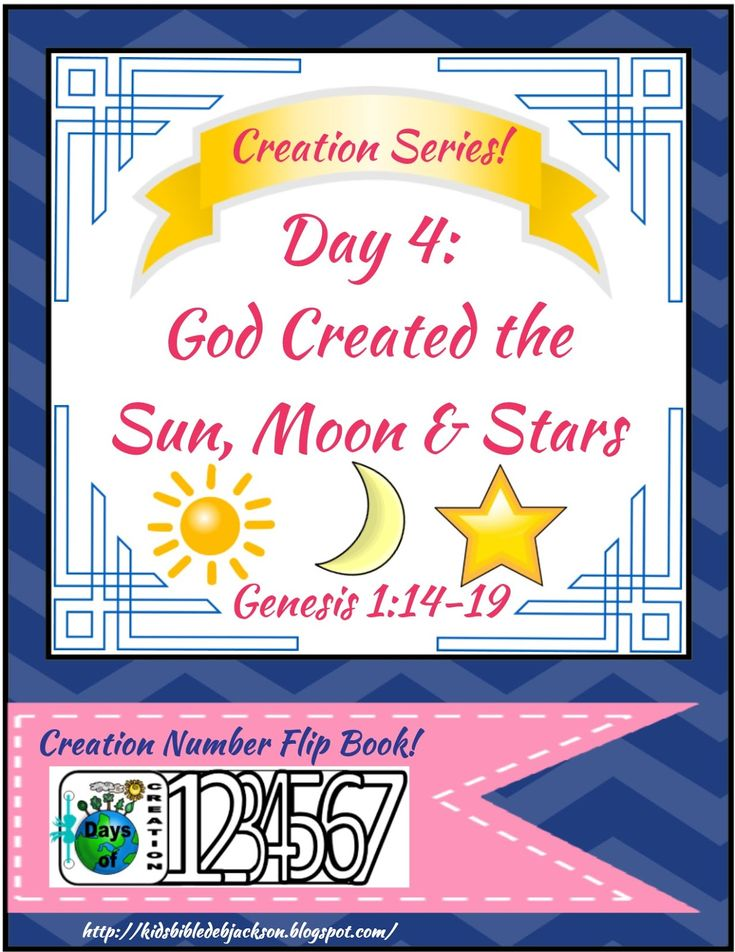 17 Best Images About Bible Creation On Pinterest Fun For
