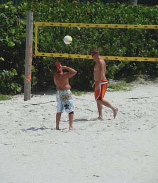 Volleyball players can add variety to their fun with alternate versions of the game that incorporate nontraditional elements and locations. While maintaining traditional traditional rules such as ...