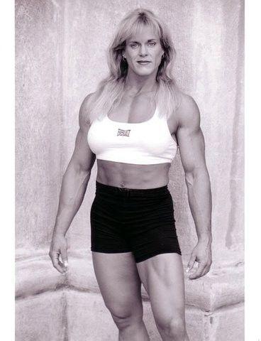 jayne trcka  muscle mass workout bodybuilding women