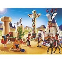 Playmobil -  Camp des Indiens avec tipi - 5247