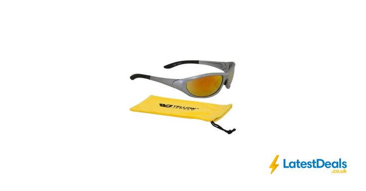 Yellow Jersey 100 % UV Protection Sport Cycling Wrap Sunglasses at Halfords/ebay, £4