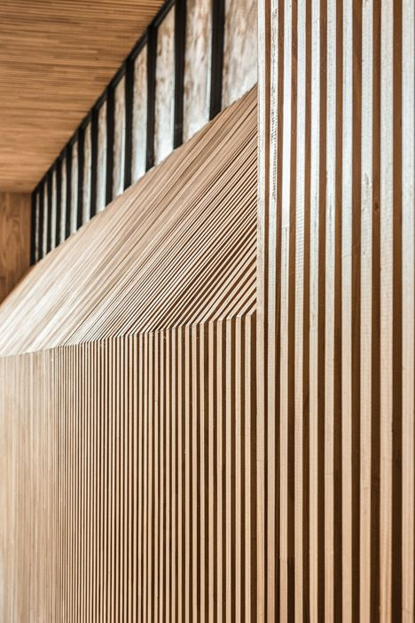 Capilla Santa Ana by Estudio Cella TIMBER BATTENS