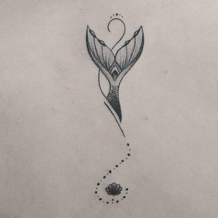 #sereia #mar #tatuagem #delicada