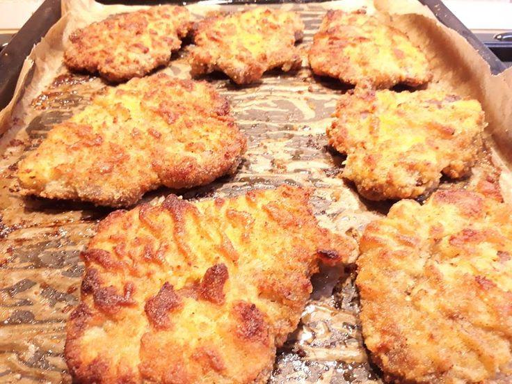 Rántott hús, sütőben sütve – Nincs többé pepecselés, viszlát olajszag