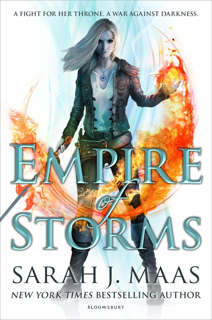 Empire of Storms (Throne of Glass): Sarah J. Maas: Series: Throne of Glass (Book 5) Hardcover: 704 pages Publisher: Bloomsbury USA Childrens (September 6, 2016)