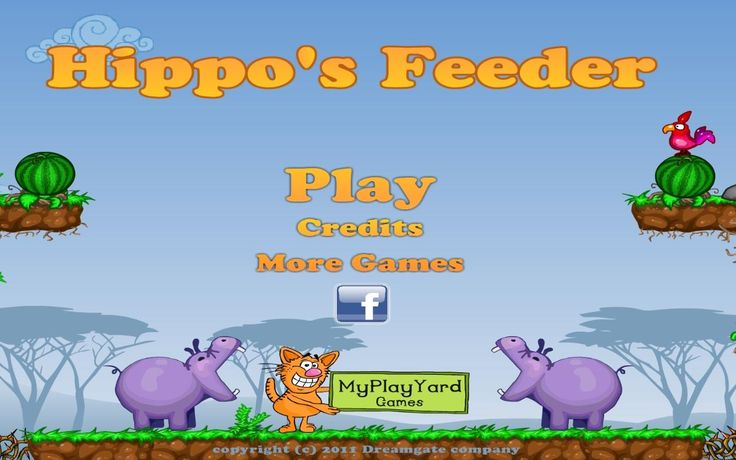 Pracujesz w zoo i zajmujesz się jednym z największych pupilów, który znajduje się na terenie ogrodu. Czas nakarmić wielkiego hipopotama!  http://www.ubieranki.eu/gry/3917/nakarm-hipopotama_.html