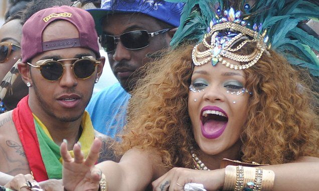 Lewis Hamilton addresses rumours that he and Rihanna are dating